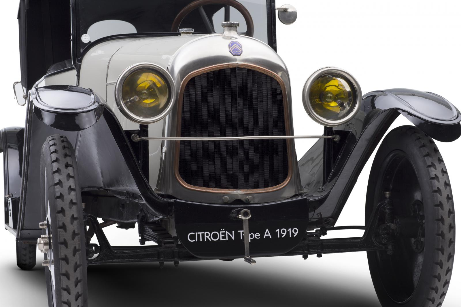 Citroën 10 HP Type A - 3/4 avant